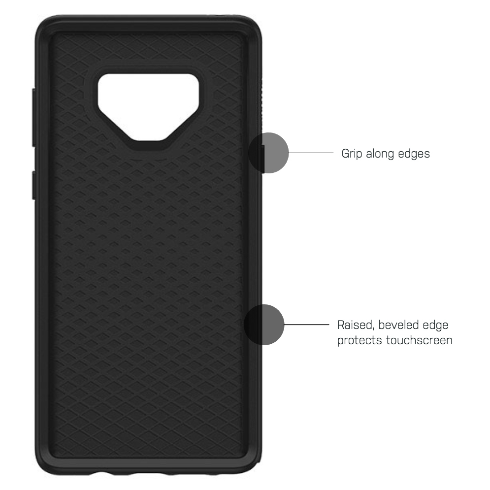 size 40 aa915 f8c96 OtterBox Symmetry Case - Samsung Galaxy Note 9 (Black)